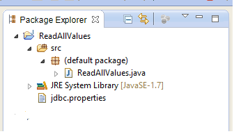 get all key values from properties file